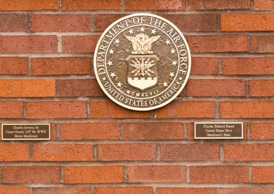 Military Memorial Wall Dedication - Air Force