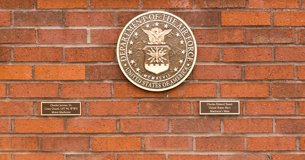 Military Memorial Wall Dedication - Air Force