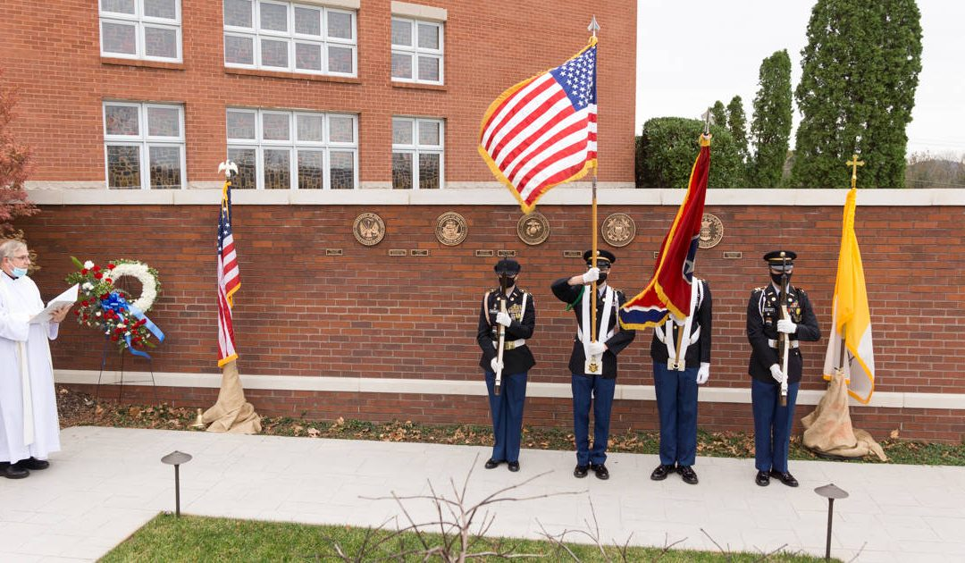 Military Memorial Wall Dedication - Fr. Joe McMahon
