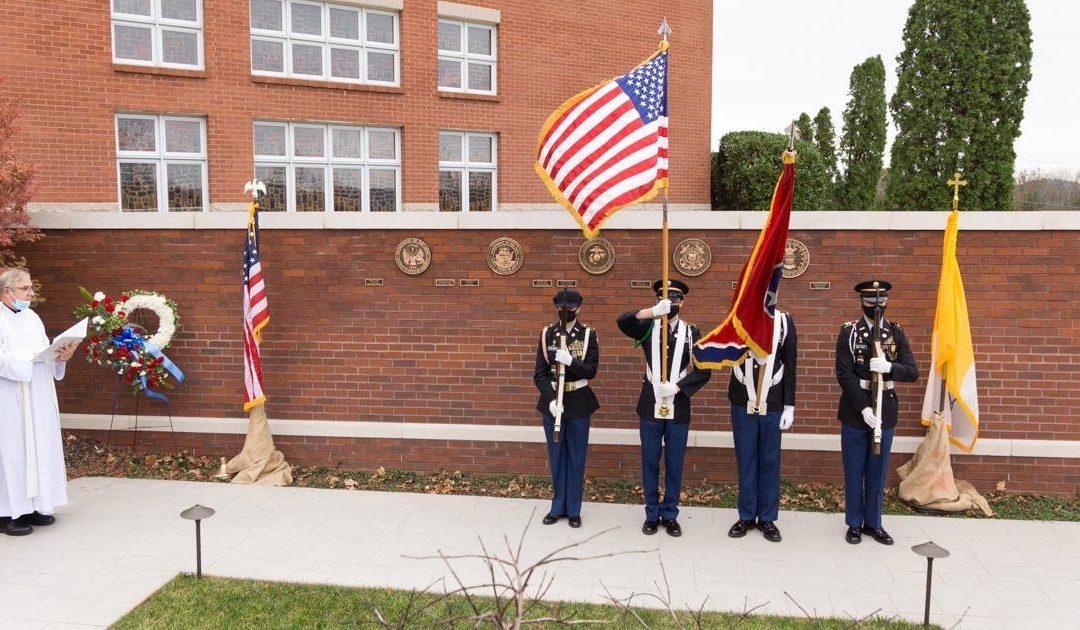 Military Memorial Wall Dedication