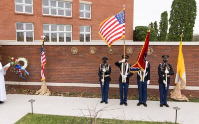 Military Memorial Wall Dedication