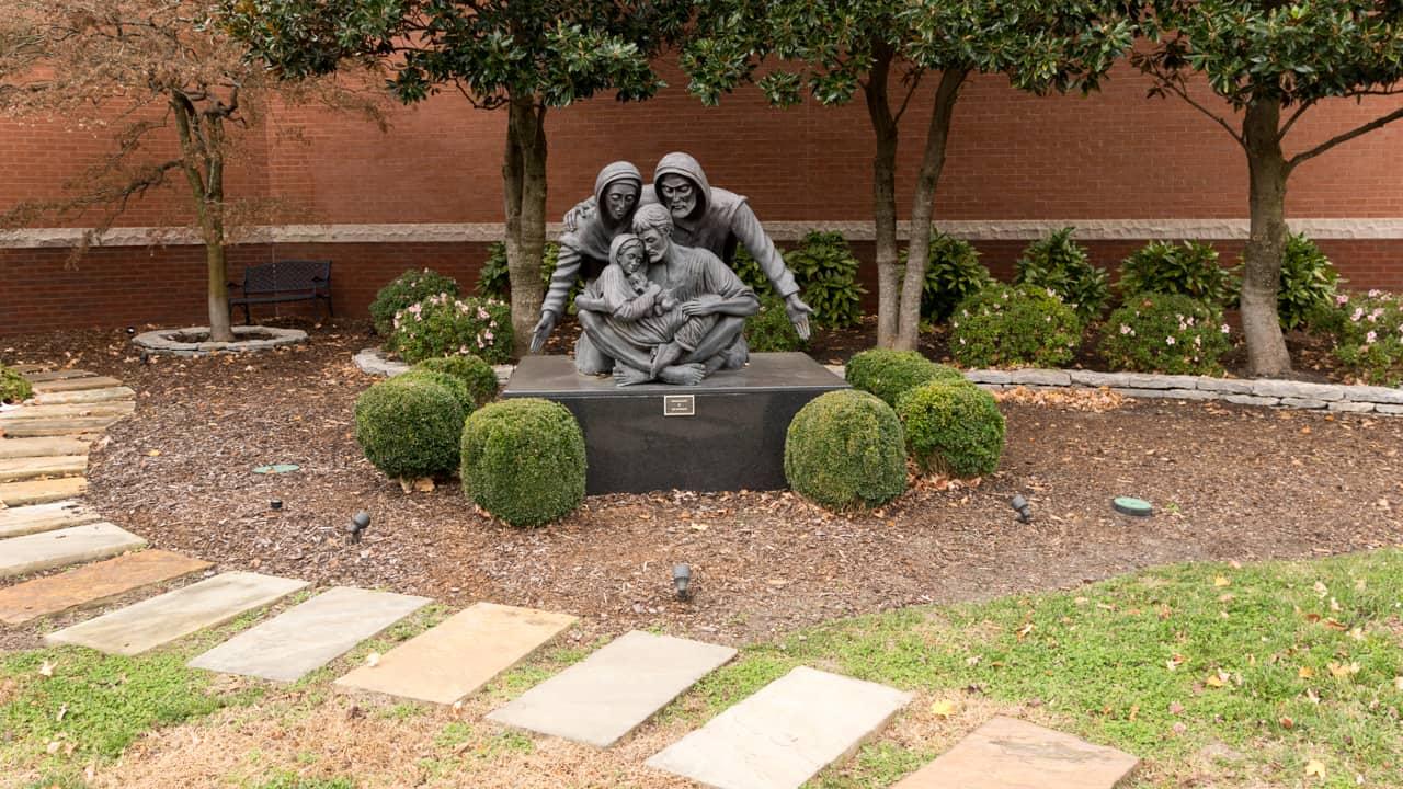 Holy Family Catholic Church - statue
