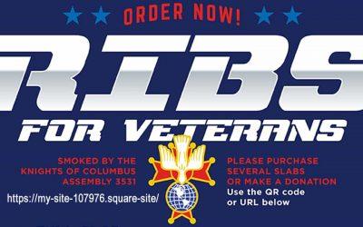 Rib Sale for Veterans