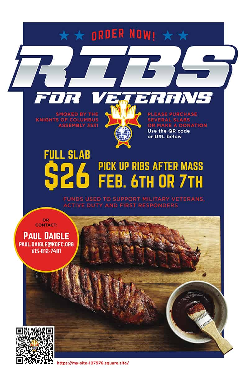 Ribs for Veterans